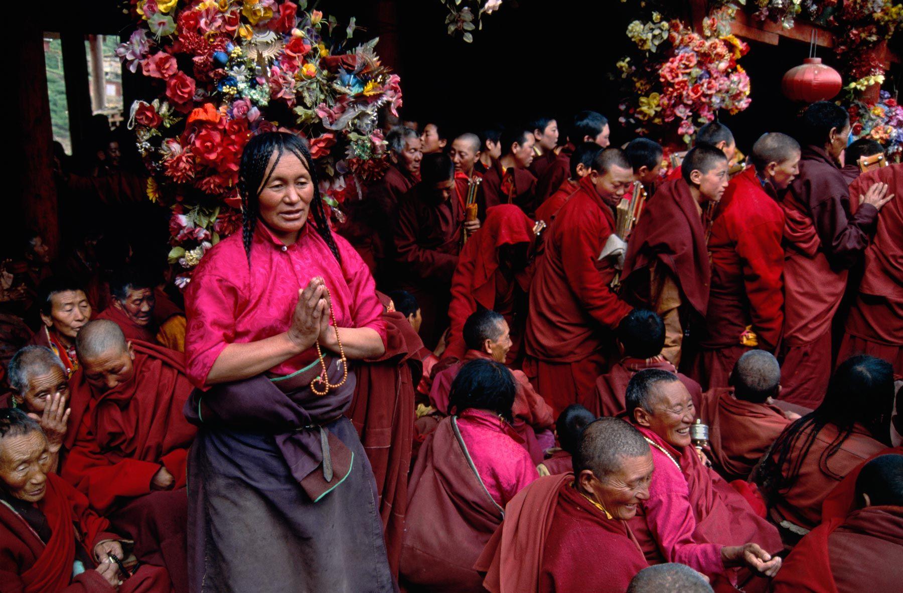 Larum Gar, Kham, Tibet | Steve McCurry
