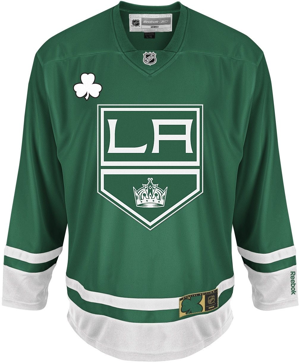 new arrival bbc05 1de96 LA Kings St. Patrick's Day Jersey | Hockey is Life | La ...
