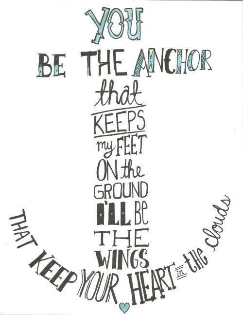 Anchor Tattoo Idea | Tattoo Ideas ✨ | Anchor quotes, Tattoo ...