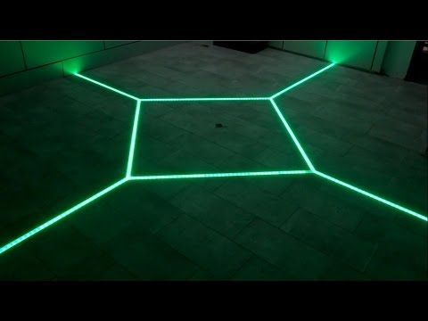 Youtube Bathroom Lighting how to led floor tiling system diy make your floor interactive