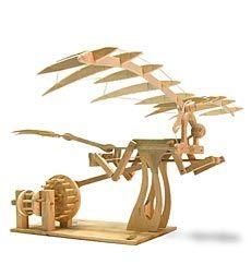 HearthSong #Fungifts #Gifts  Leonardo da Vinci Ornithopter Model Kit -Fun Gifts via- http://www.AmericasMall.com/hearthsong-gifts