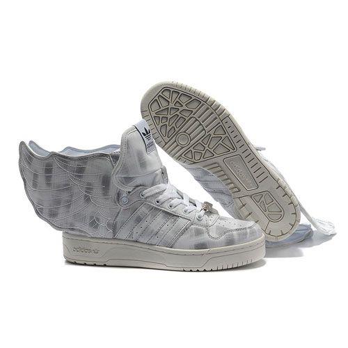 premium selection 86a6b 22d3b JS Women s adidas ObyO Jeremy Scott Wings 2.0 Shoes - White Carbon Black
