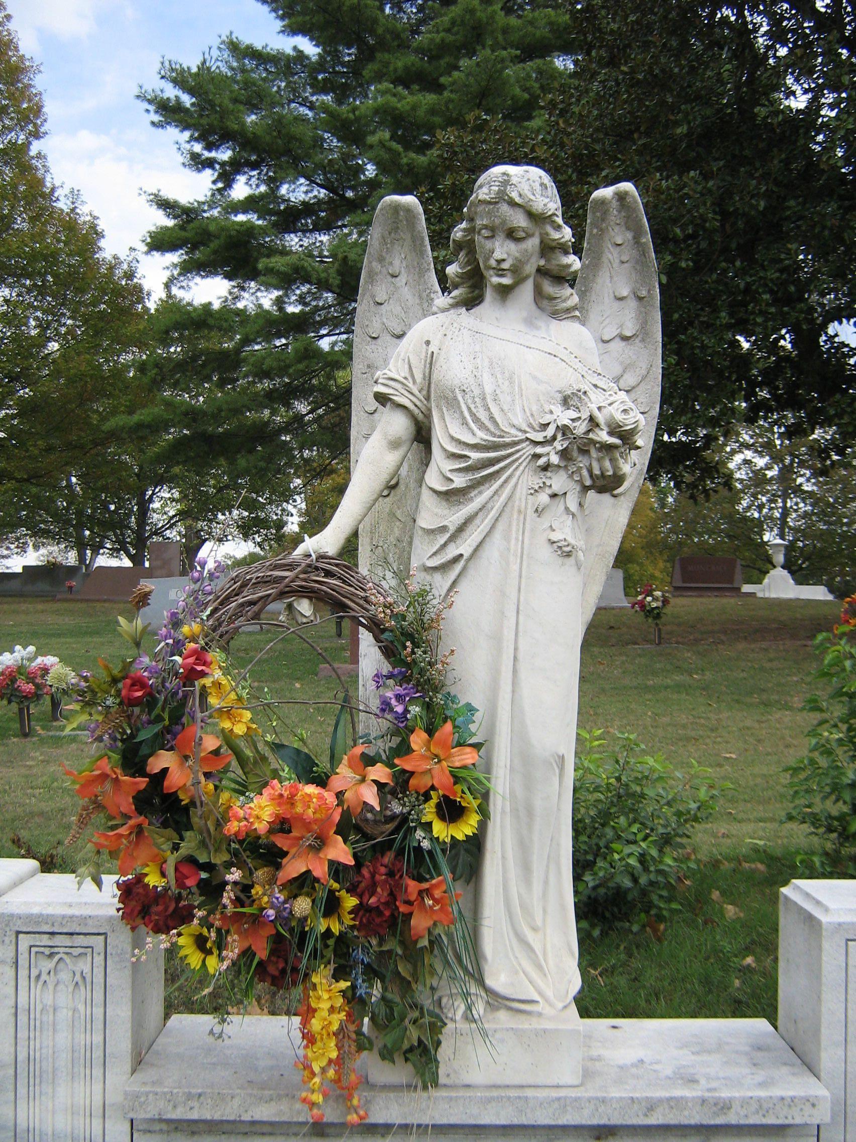 the stone angel symbols