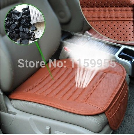 Automotive Upholstery Leather Car Seat Cover Auto Cushion Cool Wear Set Chair