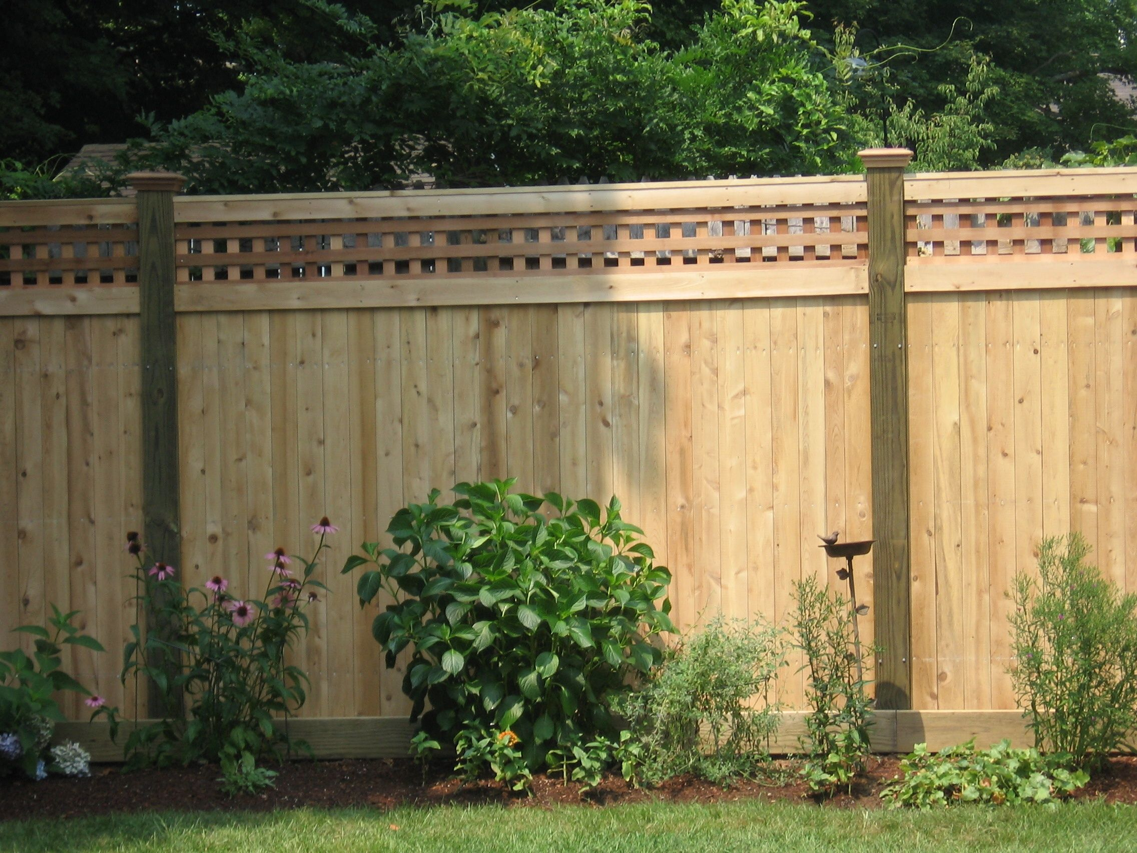 for Outside fence designs