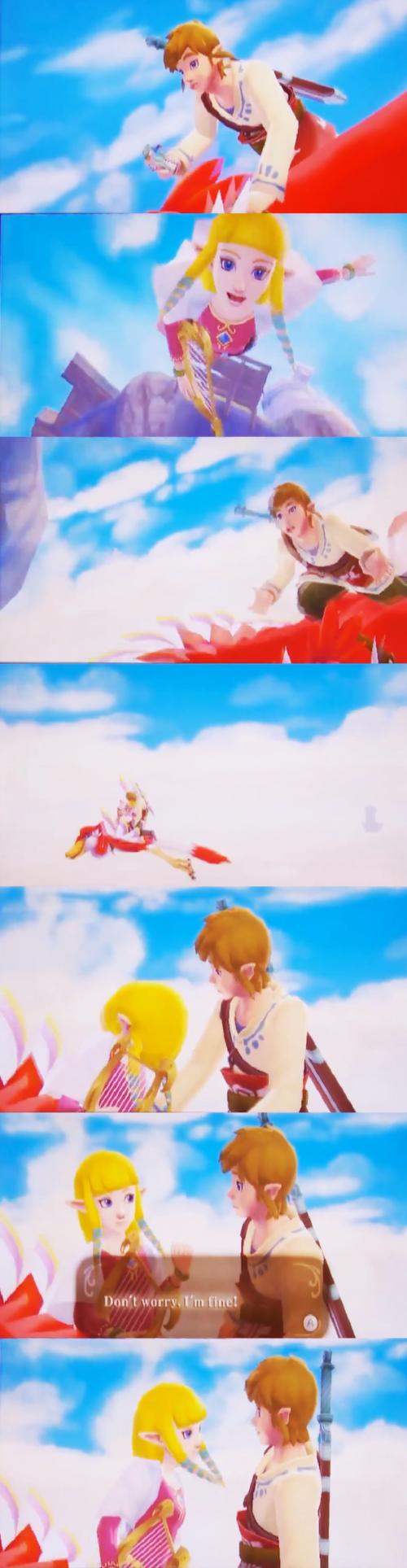 Skyward Sword Link/Zelda Relationship - Zelda Universe ...