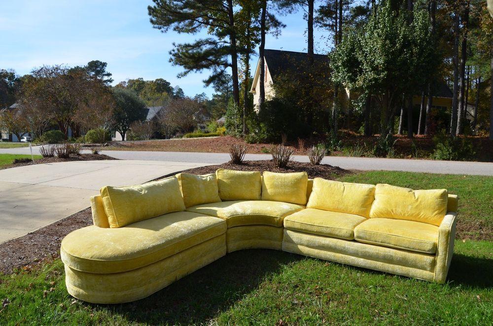 Fabulous Vintage Sofa 1970 S Henredon