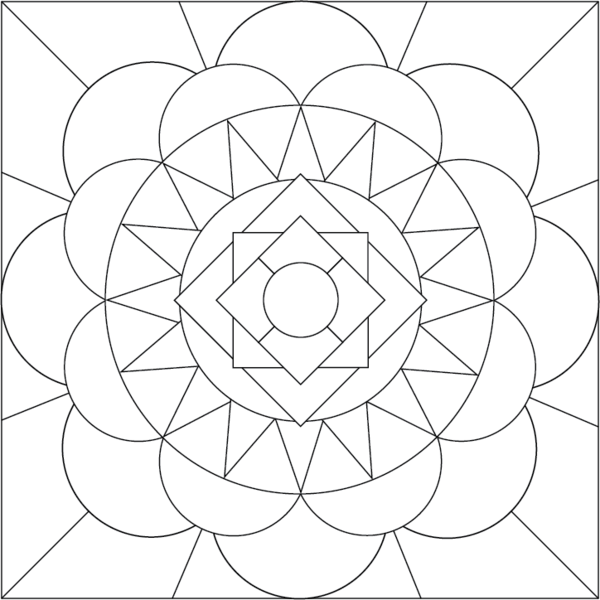 Free Printable Mandala Coloring Pages Mandala Coloring Page by