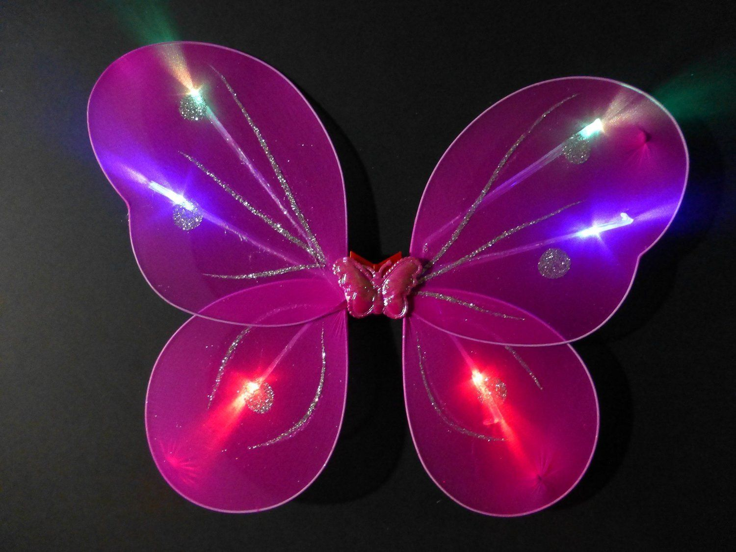 Amazon Com Butterfly Wing Fairy Wing Costume For Girls Glow In The Dark Toys Games Fairy Wings Costume Halloween Costumes For Kids Butterfly Wings