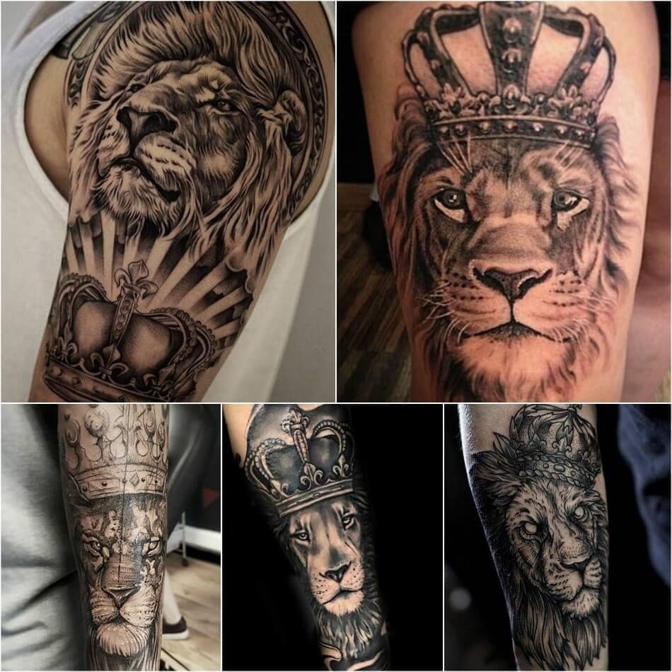 25+ Amazing Best half sleeve tattoos lion image HD