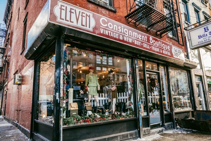 Pin By Heather Mcdonough On New York In 2020 Vintage Clothes Shop Vintage Clothing Stores Nyc Boutiques