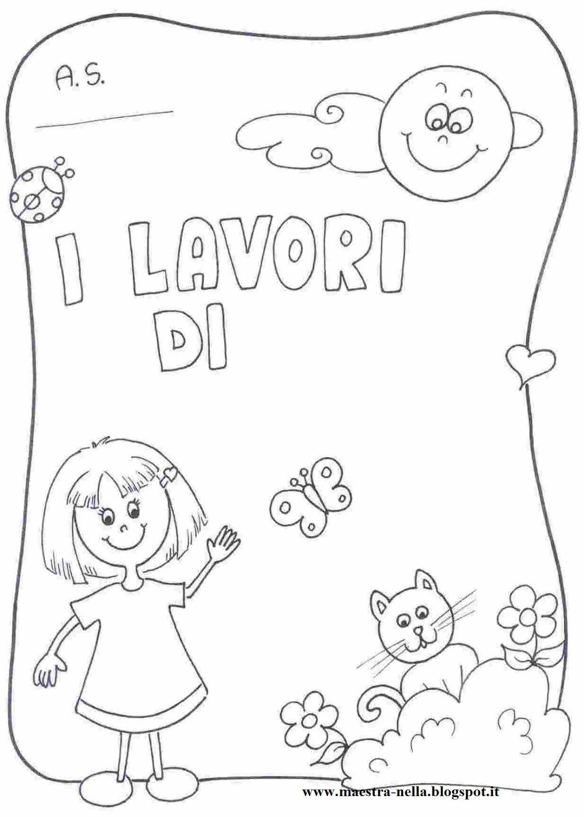 Disegni idee e lavoretti per la scuola dell 39 infanzia e - Pagina da colorare di una bibbia ...