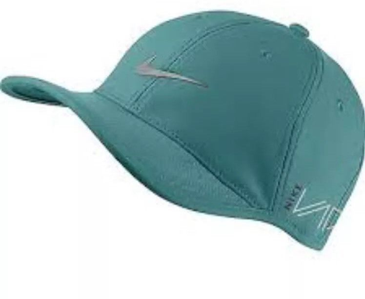 NEW Nike UltraLight Tour RZN/VAPOR Adjustable Radiant Emerald/Silver Hat/Cap  #