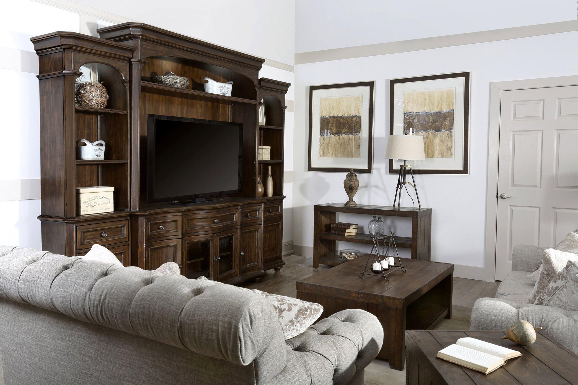 Kessington entertainment wall magnussen furniture home gallery