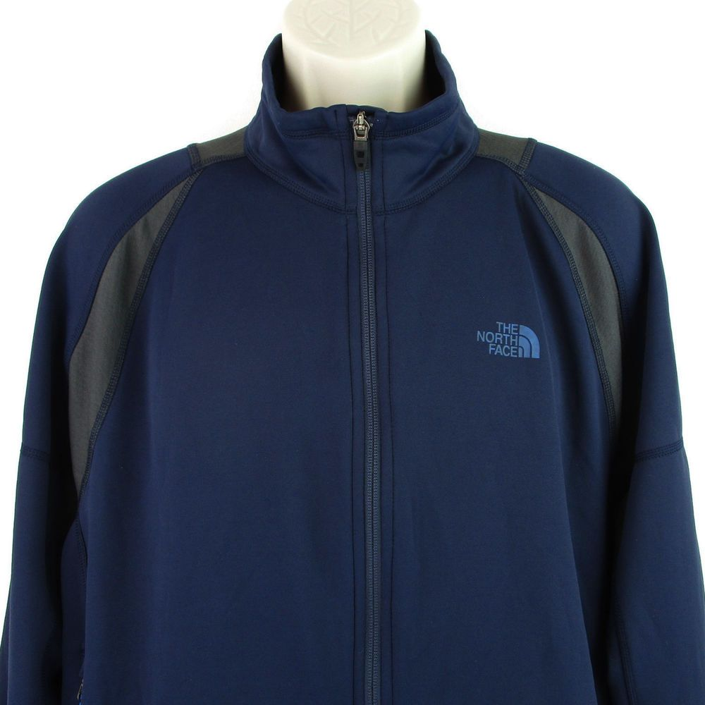 The North Face Jacket Size Large Mens L Blue Flashdry Softshell Fleece Lined Zip North Face Jacket The North Face Jackets [ 1000 x 1000 Pixel ]
