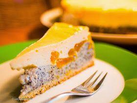 Mohn-Schmand-Kuchen mit Mandarinen