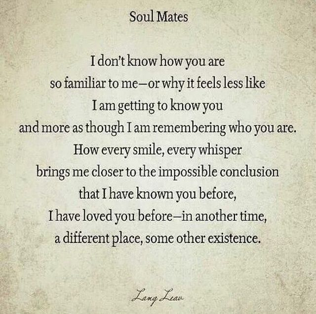 Soul Mates Pictures, Photos, and Images for Facebook, Tumblr, Pinterest, and Twitter