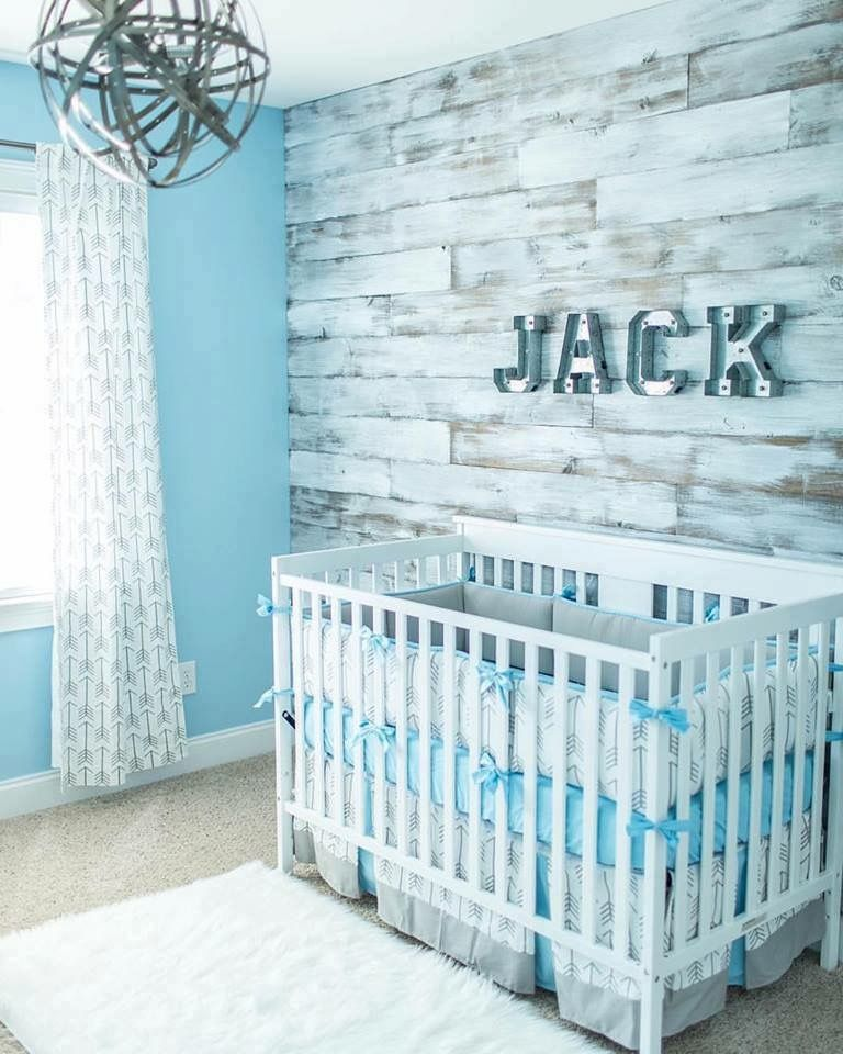 I Love The White Washed Wood Wall Nursery Room Boy Beautiful