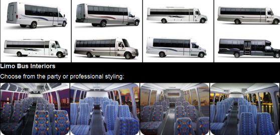 Custom Party Buses For Sale U2013 Flexible Seats And Optimal Safety