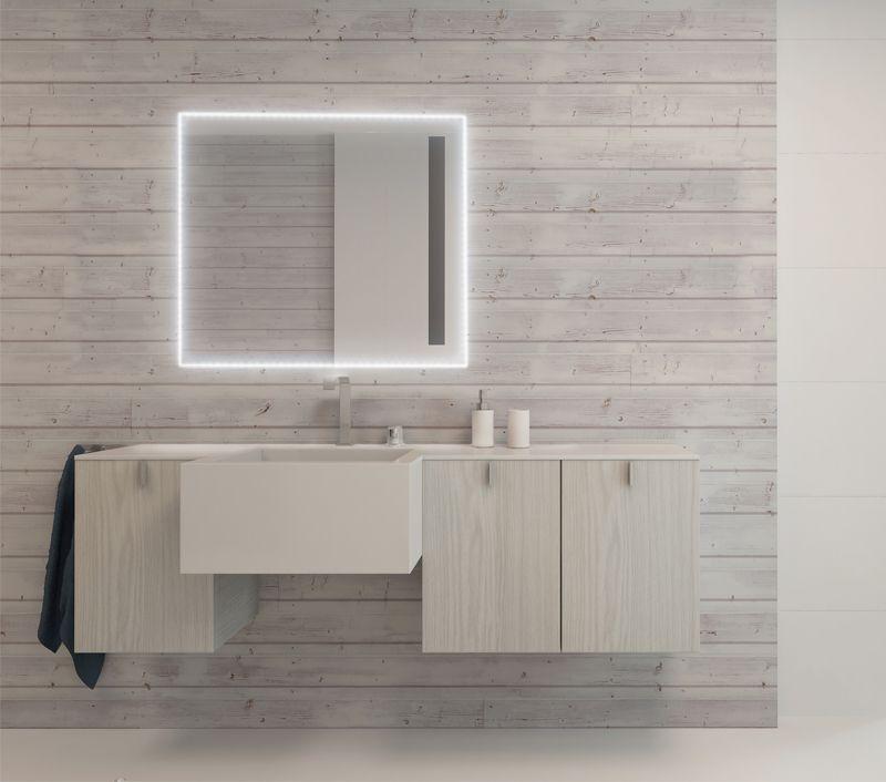 illuminazione specchio bagno - Cerca con Google | specchi bagno ...