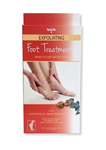 My Spa Life 95952 Eucalyptus Oil  Granular Walnut Shells Exfoliating Foot Treatment  4 Treatments ** You can find more details by visiting the image link.