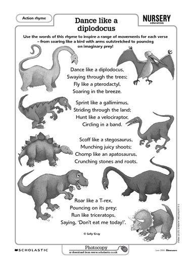 Click to download | Dinosaur theme preschool, Dinosaurs ...