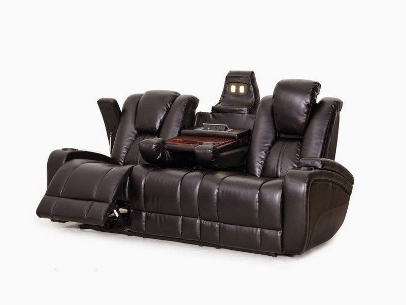 costco leather power reclining sofa