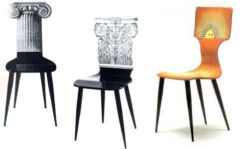 Chaises Design Italien Piero Fornasetti Furniture Chairs Sun Products