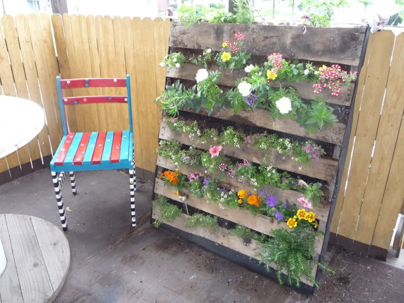 recycle a wood pallet