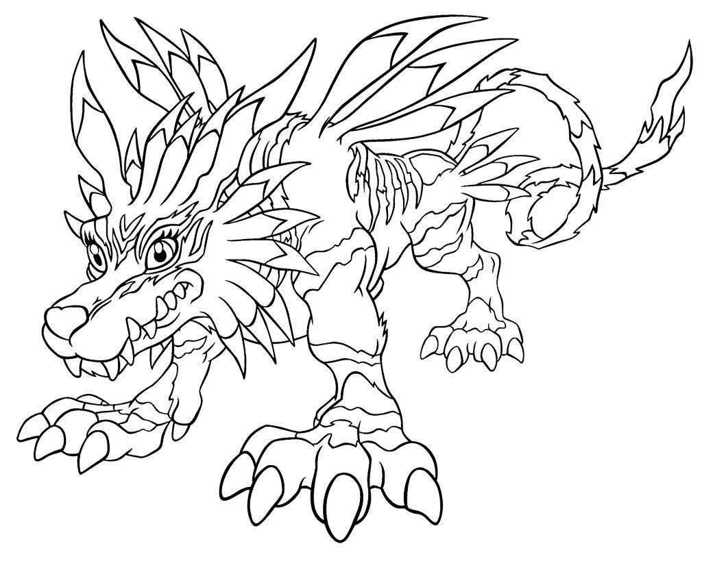 Coloringpick Com Coloring Pages Digimon Coloring Pages For Kids