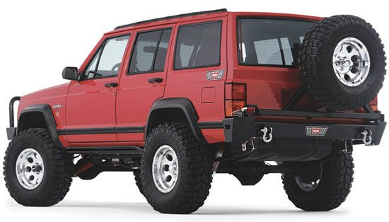 Warn Rock Crawler Rear Bumper For The Jeep Xj Cherokee Jeep Cherokee Jeep Cherokee Xj