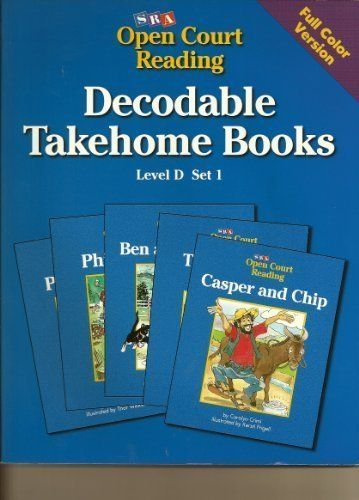 SRA Open Court Reading / Decodable Takehome Books/ Full