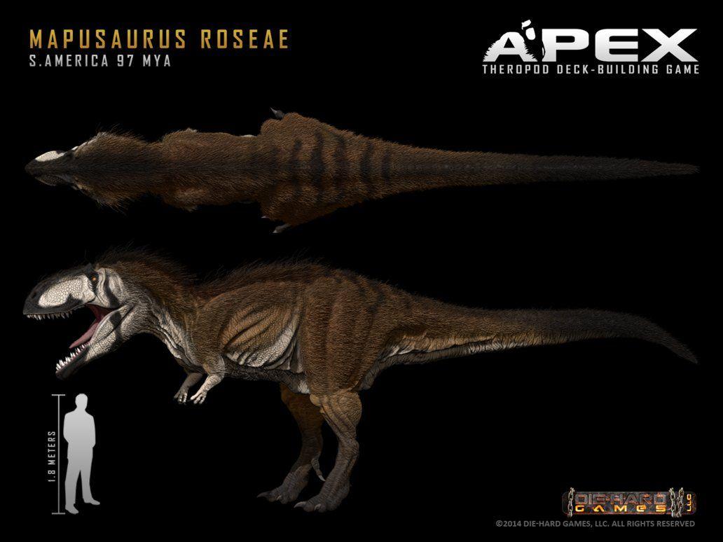 Mapusaurus roseae by Herschel-Hoffmeyer on deviantART