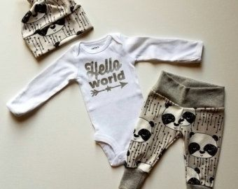 Baby Boy Newborn Take Home Outfit. Worth the by mainegirlcreations