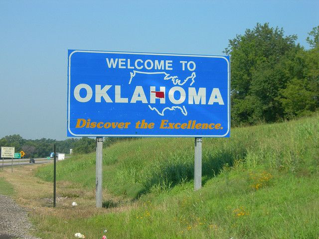 Welcome to Oklahoma by jimmywayne, via Flickr | State