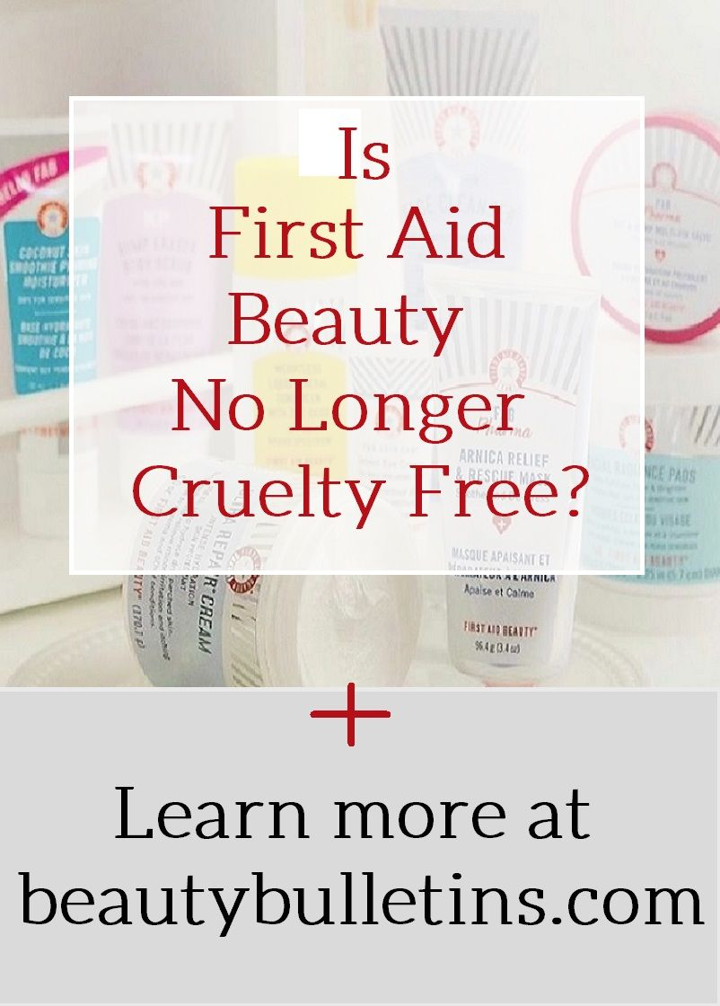 Is First Aid Beauty No Longer Cruelty Free? First Aid Beauty (FAB) needs to repair their animal testing policy on products.
