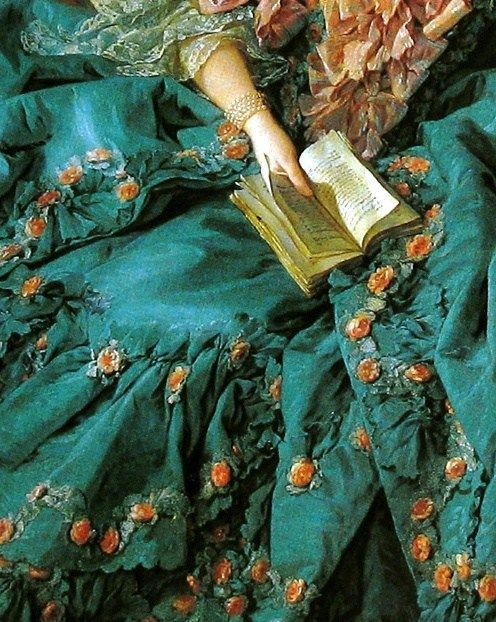 17 Stunning Works Of Art That Celebrate Springtime Reading #renaissanceart Artist and painting unknown. Need the name and the whole painting, this is so pretty