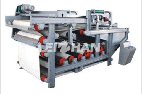 Sludge Dewatering Machine in Paper Making Industry