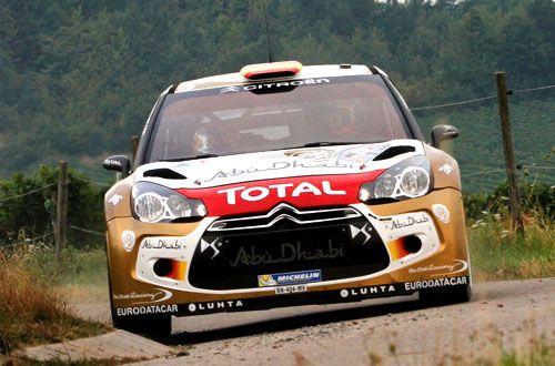 """Dani Sordo: """"Me gustaría mucho ganar en Cataluña"""". Este fin de semana se disputa el Rally de Cataluña, penúltima prueba del WRC 2013. Dani Sordo (Citroën), ganador en Alemania, se encuentra muy motivado: """"Me gustaría mucho ganar este rally, más que cualquier otro"""", aseguró el cántabro."""