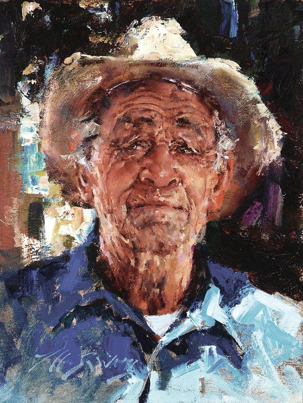 Jeffrey Watts Jaime Painted People Male Portrait Classical Realism