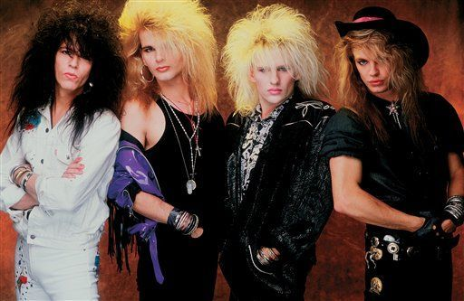 Hair metal bands, then and now | 13 s, 13s hair bands and Hair ...