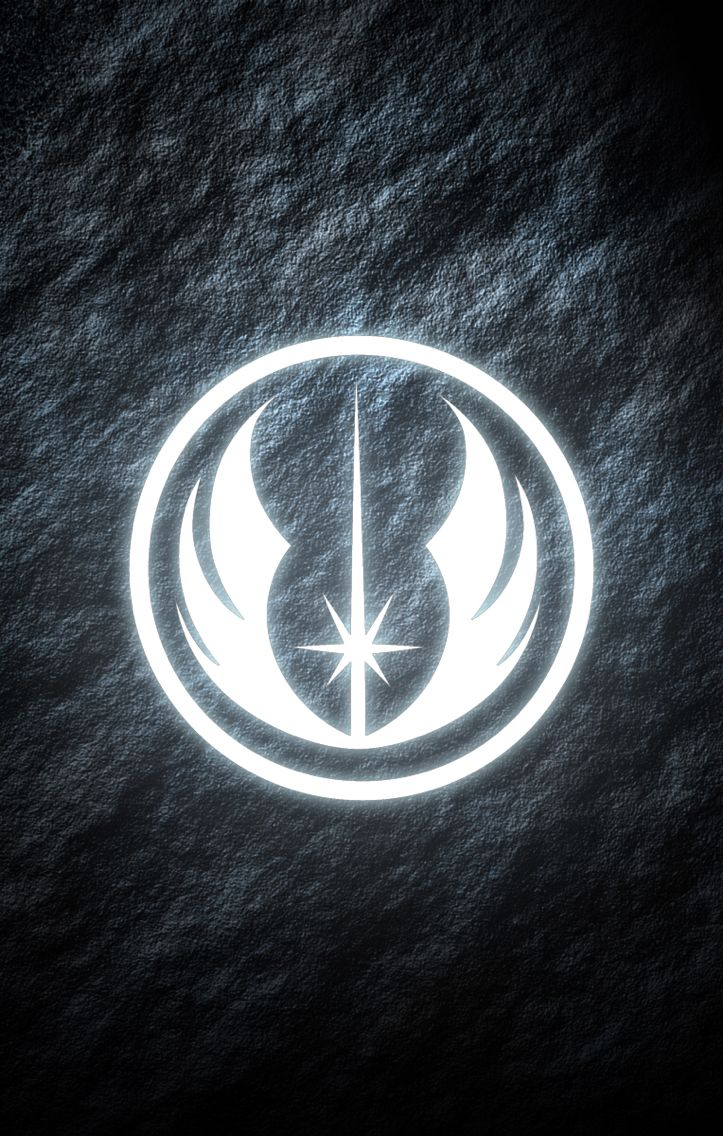 Jedi order star wars phone wallpaper glowing symbol my work jedi order star wars phone wallpaper glowing symbol biocorpaavc