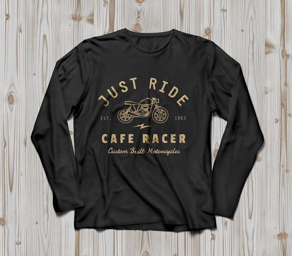 Download Free Long Sleeve T Shirt Mockup T Shirt Design Template Shirt Mockup Tshirt Mockup