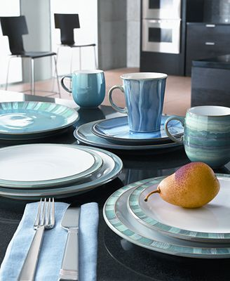 Denby Azure To Mix Match With Our Regency Green Dinnerware Denby Pottery
