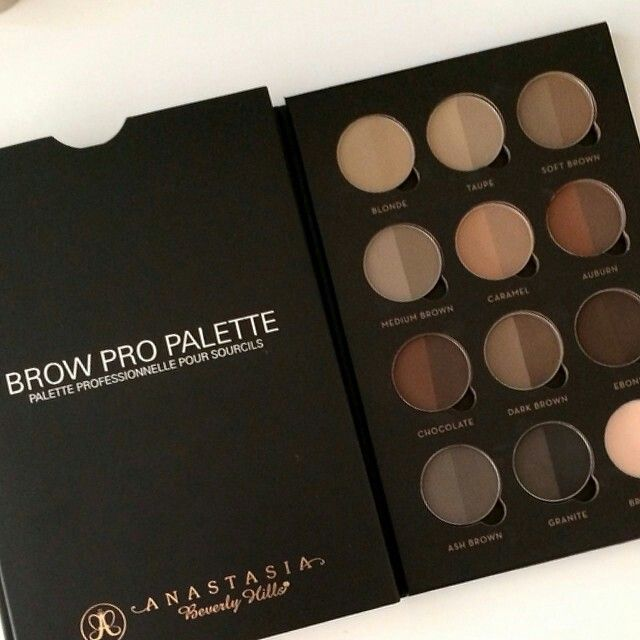 Anastasia Beverly Hills Brow Pro Palette With Images Makeup