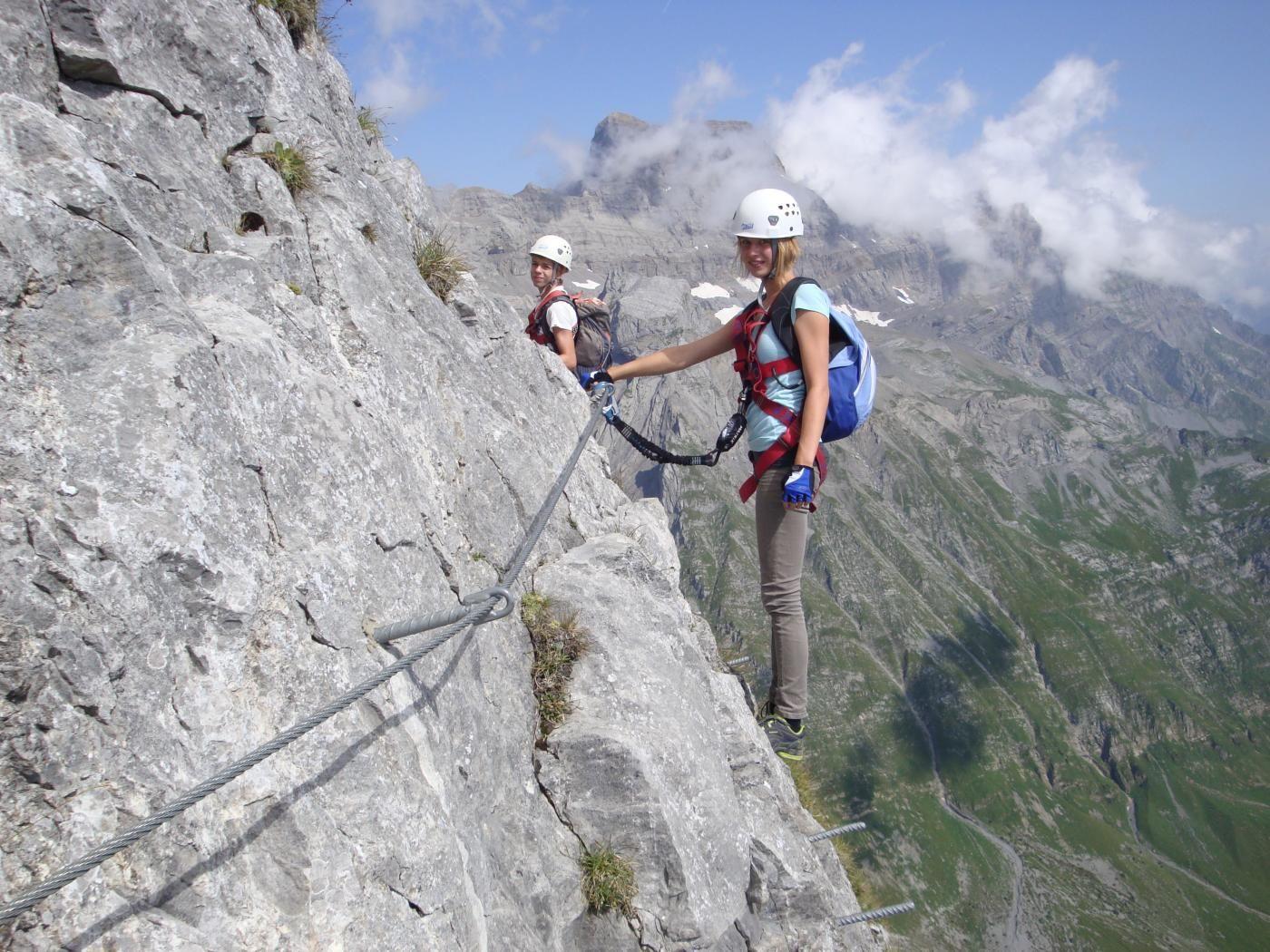 Klettersteig Via Ferrata : Monte albano klettersteig bergsteigen