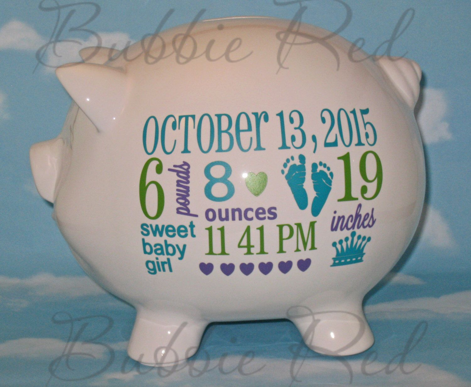 Personalized piggy bank baby boy piggy bank baby girl piggy bank personalized piggy bank baby boy piggy bank baby girl piggy bank baby birth negle Images