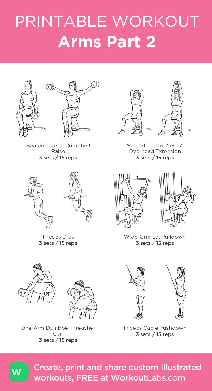 Arms Part 2 · Free workout by WorkoutLabs Fit