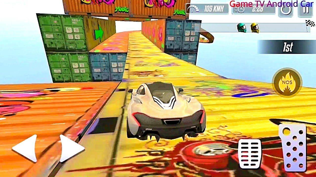 Mega Ramp Car Stunts 2020 Gt Racing Android Gameplay 1 Weird Cars Car Games Racing