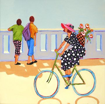 """Boardwalk Activities"" by Carolee Clark"